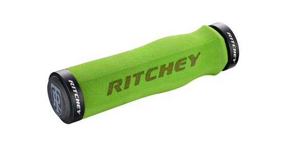 Ritchey WCS Ergo True Grip - Puños - Lock-On verde